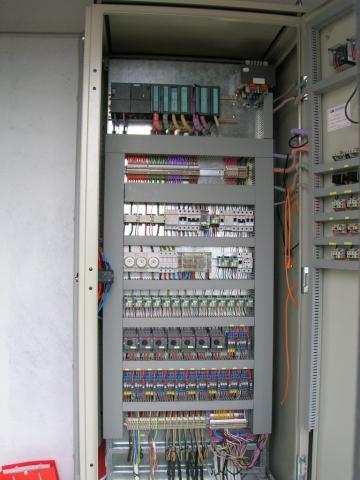 Φράγμα Ευυδρίου - Πίνακας & PLC