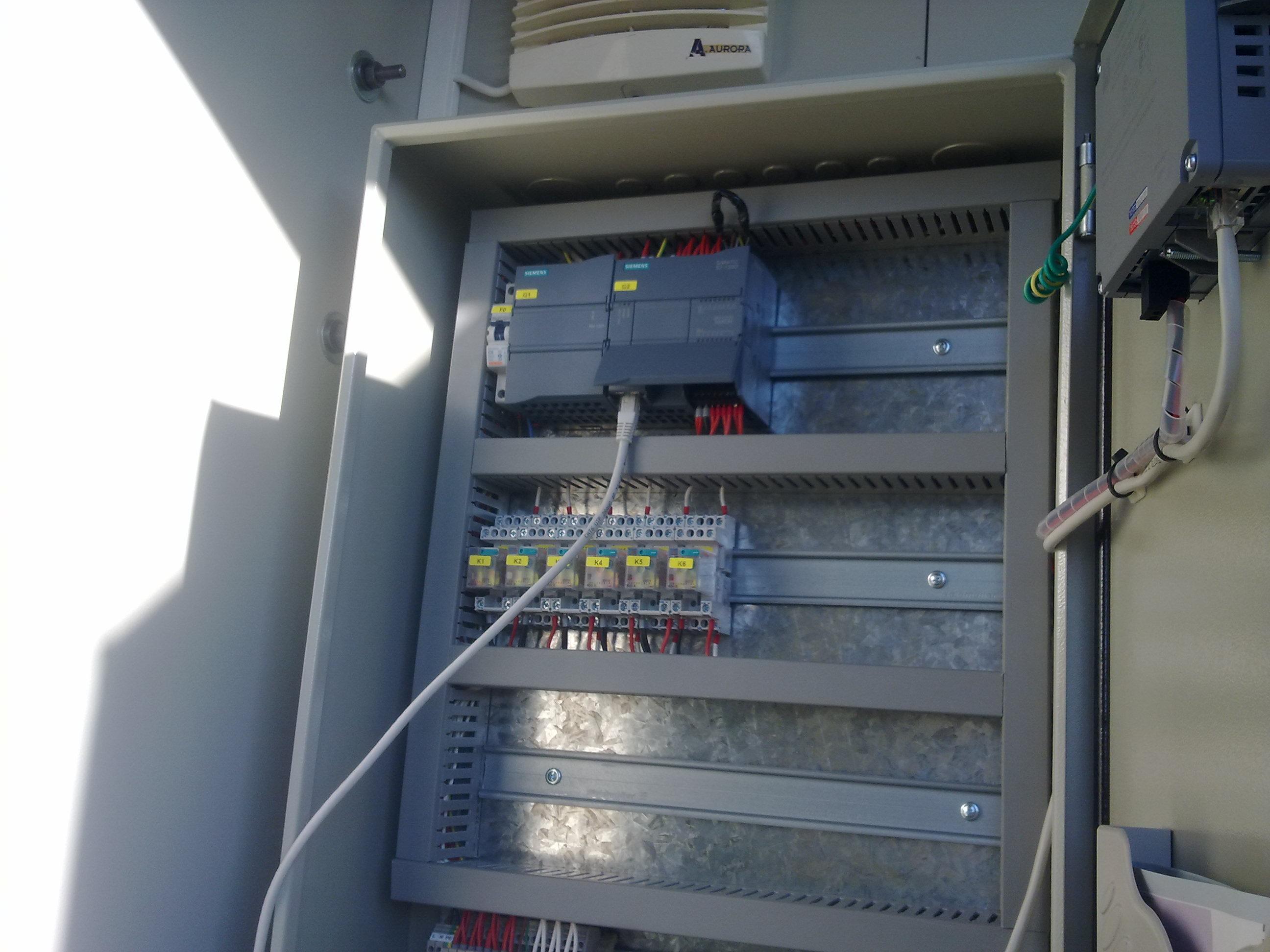 Αντλιοστάσια Κάρλας - PLC